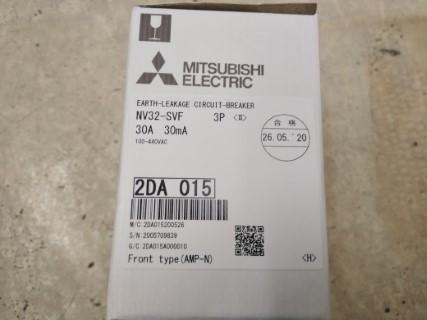 MITSUBISHI NV32-SVF 3P 30A 100MA 100-440VAC ราคา 2000 บาท