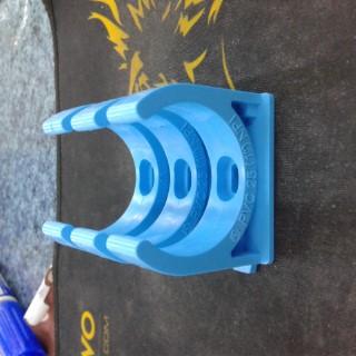 แคลมป์ก้ามปู PVC 25(1 INCH) NPI สีฟ้า ราคา 3 บาท