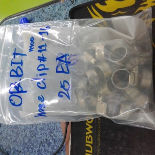 ORBIT hose clip MOO11-16 ราคา 20 บาท