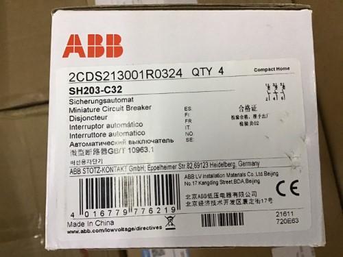 ABB SH203-C32 3P 32A ราคา 814 บาท