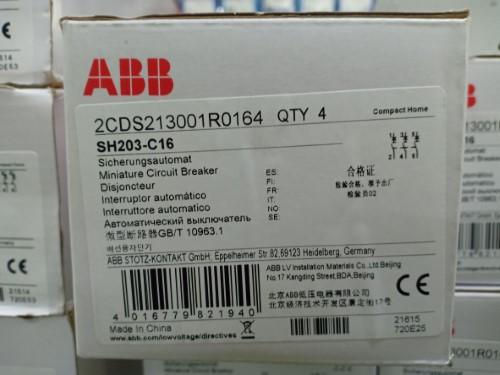 ABB SH203-C16 ราคา 720 บาท