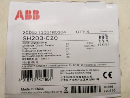 ABB SH203-C20 ราคา 720 บาท