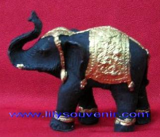 ช้างสีดำ-ทอง