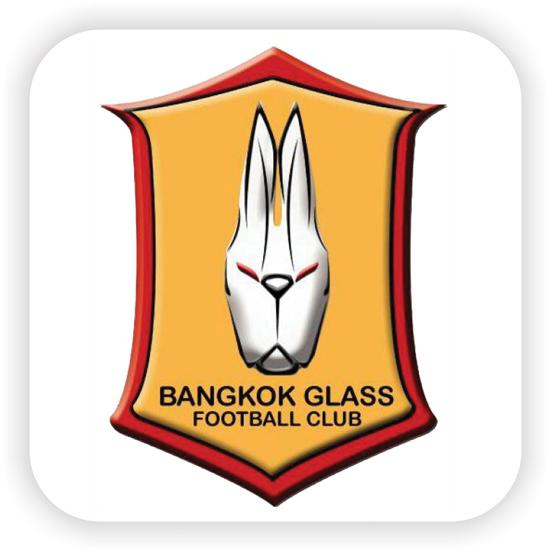 โลโก้ BANGKOK GLASS  FOOTBALL CLUB
