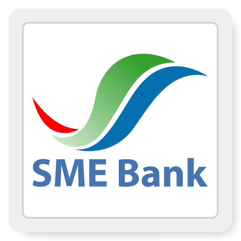โลโก้ ธนาคารพัฒนาวิสาหกิจขนาดกลางและขนาดย่อมแห่งประเทศไทย