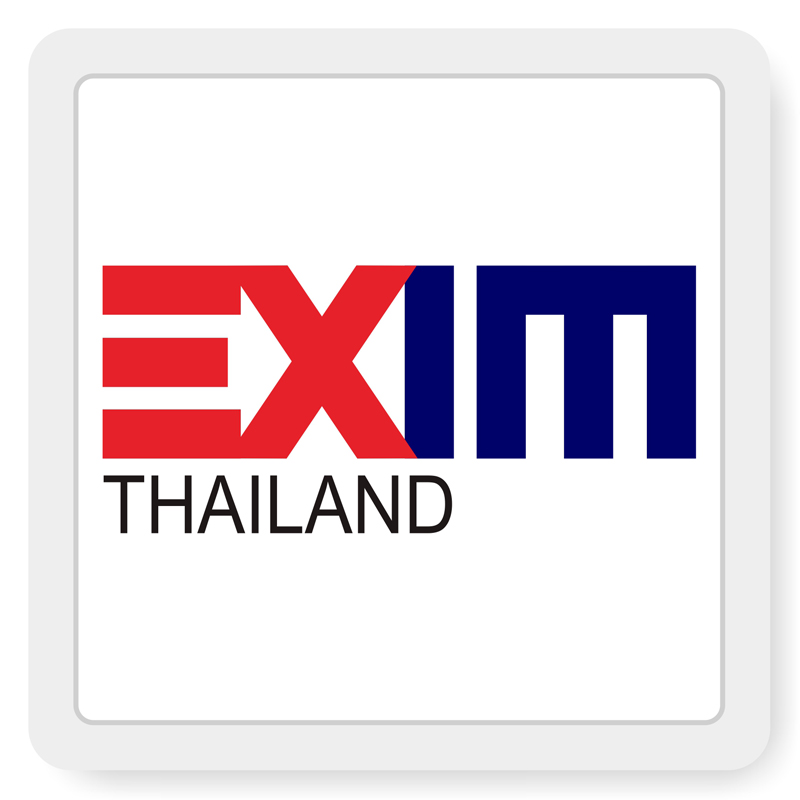 โลโก้ ธนาคารเพื่อการส่งออกและนำเข้าแห่งประเทศไทย