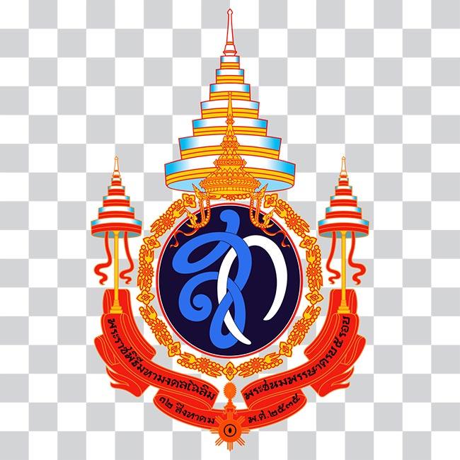 ตราสัญลักษณ์ พระราชพิธีมหามงคลเฉลิมพระชนมพรรษา ๕ รอบ สมเด็จพระนางเจ้าสิริกิติ์ พระบรมราชินีนาถฯ
