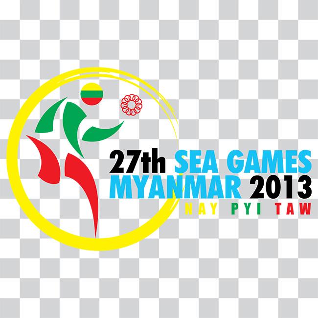 โลโก้ การแข่งขันกีฬาซีเกมส์ครั้งที่ 27 ประเทศพม่า
