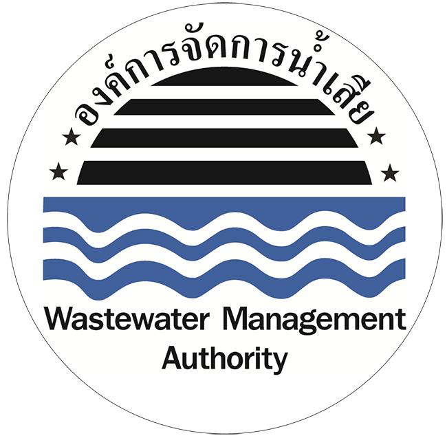 โลโก้ องค์การจัดการน้ำเสีย กระทรวงทรัพยากรธรรมชาติและสิ่งแวดล้อม
