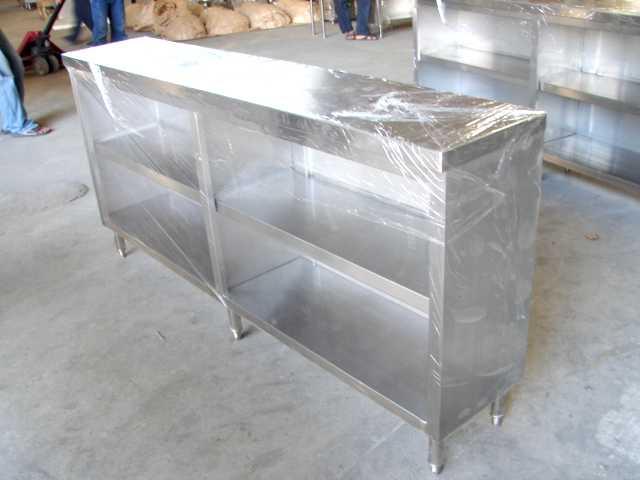 โต๊ะสเตนเลสแบบเคาน์เตอร์เก็บจาน No.T5