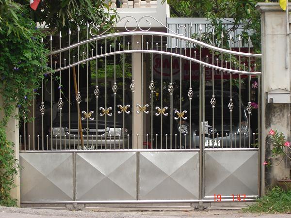 ประตูสเตนเลส No.D3