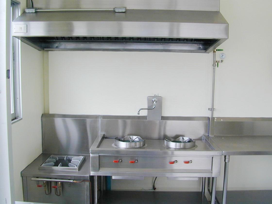 เครื่องดูดควันใช้ในครัวพนักงาน No.B17