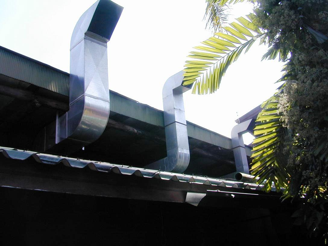 เครื่องดูดควันใช้ในครัวโรงแรม No.B20