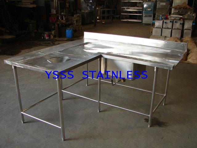 โต๊ะรับจานเข้าเครื่องล้างจาน No.T18