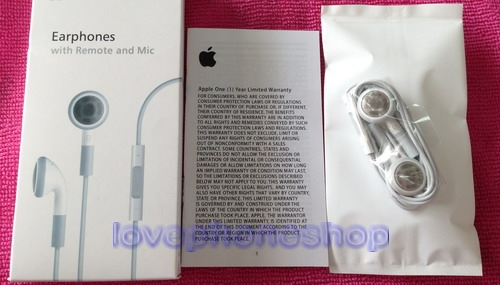 หูฟัง iPhone4/4S/iPad/iPad2/3/4 Original Genuine SmallTalk!!! [ส่งฟรี]