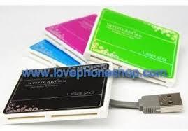 USB Card Reader สีสวย ทันสมัย Brand SIYOTEAM รุ่น SY-682 ส่งฟรี