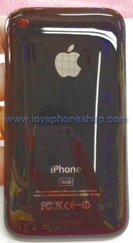 ฝาหลังไอโฟน 3GS สีดำ ขนาดความจุตัวเครื่อง 16 GB (ส่งฟรี)