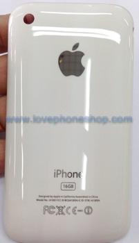 ฝาหลังไอโฟน 3GS สีขาว ขนาดความจุตัวเครื่อง16GB (ส่งฟรี)