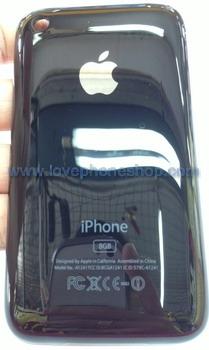 ฝาหลังไอโฟน 3G สีดำ ขนาดความจุตัวเครื่อง 8 GB (ส่งฟรี)