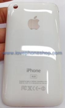 ฝาหลังไอโฟน 3G สีขาว ขนาดความจุตัวเครื่อง 8 GB (ส่งฟรี)