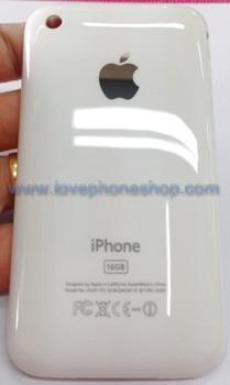ฝาหลังไอโฟน 3G สีขาว ขนาดความจุตัวเครื่อง 16 GB (ส่งฟรี)