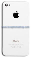 ฝาหลัง ไอโฟน4 สีขาว Back Cover Original Genuine Part (ส่งฟรี)