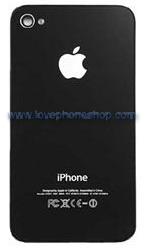 ฝาหลัง ไอโฟน4 สีดำ Back Cover Original Genuine Part (ส่งฟรี)