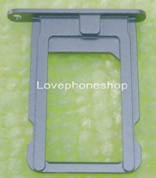ถาดใส่ซิม Sim Card Tray Original Genuine สำหรับ iPhone 5S สีเทา-ดำ (ส่งฟรี)