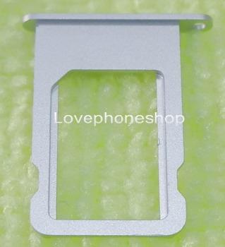 ถาดใส่ซิม Sim Card Tray Original Genuine สำหรับ iPhone 5S สีเงิน (ส่งฟรี)