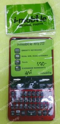 ชุดหน้ากาก มีปุ่มกด i-mobile Hitz213 สีแดง แท้ศูนย์ ส่งฟรี!!!