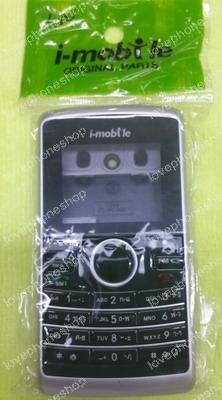ชุดหน้ากาก มีปุ่มกด i-mobile 2210 สีบอนดำ แท้ศูนย์ ส่งฟรี!!!