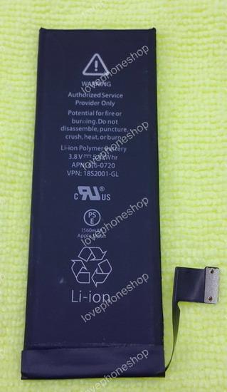 แบตเตอรี่ สำหรับ iPhone 5S,5C งานแท้  ส่งฟรี)