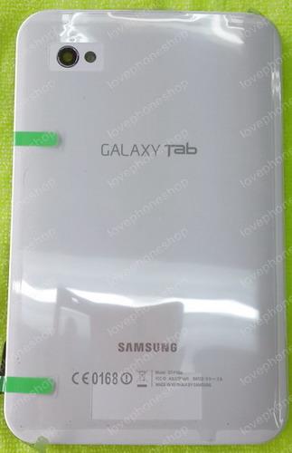 ฝาหลัง Samsung Galaxy TAB (GT-P1000/P1010) สีขาว (Back Cover Original Genuine Part) ส่งฟรี!!!