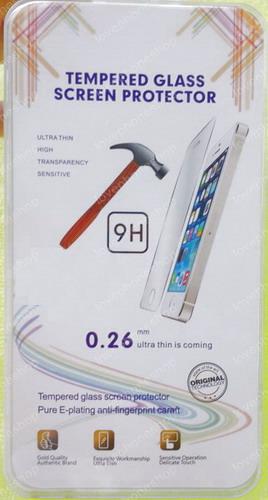 แผ่น ฟิลม์แก้วกันรอย GLASS 0.26mm Screen Protector for iPhone 5/5S ส่งฟรี!!!