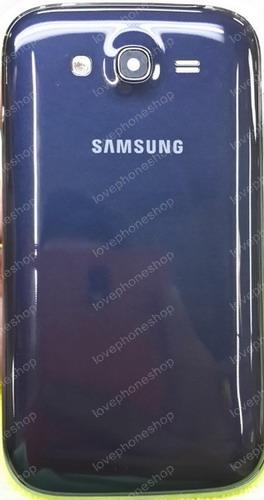 ชุดเคสกลางและฝาหลัง Samsung Galaxy GRAND(I9082) สีดำ (Cover Case Original Genuine Part) ส่งฟรี!!!