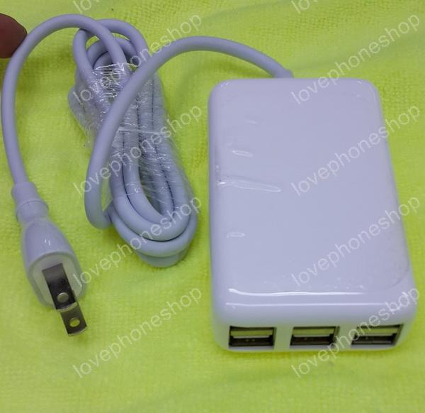 ที่ชาร์จ 30W USB Desktop Charger for Smart Phone ทุกรุ่น แบบ 6 ช่อง (ส่งฟรี)