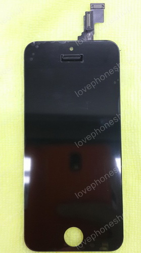 ชุด หน้าจอ iPhone 5C สีดำ (ส่งฟรี)