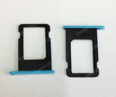 ถาดใส่ซิม Sim Card Tray Original Genuine สำหรับ iPhone 5C สีฟ้า (ส่งฟรี)