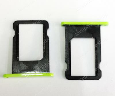 ถาดใส่ซิม Sim Card Tray Original Genuine สำหรับ iPhone 5C สีเขียว (ส่งฟรี)