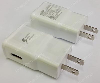 หัวชาร์ตแท้ Adaptive Fast Charging -Output 5V.2A./9V.1.67A. Samsung Galaxy S1-S6,Noteทุกรุ่น ส่งฟรี!