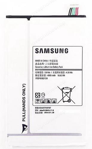 แบตเตอรี่ แท้ Samsung GALAXY TAB S 8.4 T700,T705 (GH43-04206A/EB-BT705FBC) 4900mAh (ส่งฟรี)