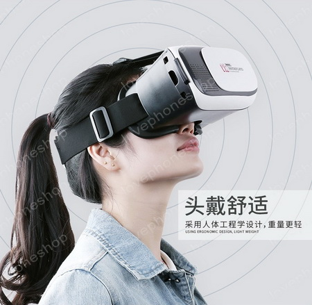 REMAX กล่องแว่นตา3มิติ VR BOX Virtual Reality 3D Glasses RT-V01  สำหรับสมาร์ทโฟนทุกรุ่น  ส่งฟรี!!