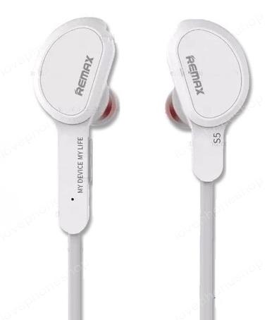 หูฟัง Remax Rm-S5 Sports Bluetooth  สีขาว (แท้) ส่งฟรี!!!