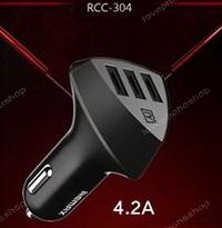 Car Charger 4.2A (Aliens,RCC-304) - REMAX สำหรับสมาร์ทโฟนทุกรุ่น  ส่งฟรี!!