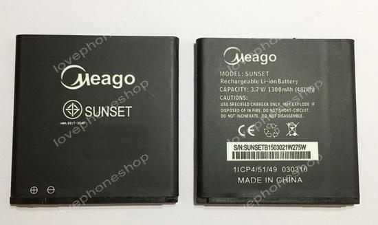 แบตเตอรี่ Meago สำหรับ Wiko รุ่น SUNSET (ส่งฟรี)