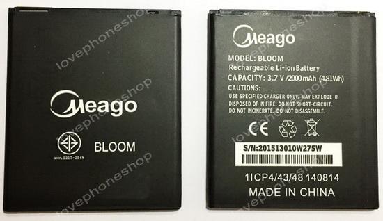 แบตเตอรี่ Meago สำหรับ Wiko รุ่น BLOOM, Rainbow  (ส่งฟรี)