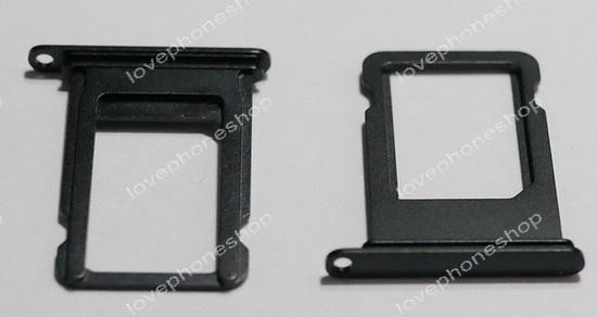 ถาดใส่ซิม Sim Card Tray Original Genuine สำหรับ iPhone 7 สีดำด้าน (ส่งฟรี)
