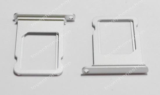 ถาดใส่ซิม Sim Card Tray Original Genuine สำหรับ iPhone 7 สีเงิน (ส่งฟรี)