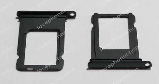ถาดใส่ซิม Sim Card Tray Original Genuine สำหรับ iPhone 7 สีดำเงา  jet black (ส่งฟรี)