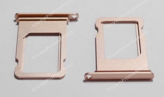 ถาดใส่ซิม Sim Card Tray Original Genuine สำหรับ iPhone 7Plus  สีชมพู (Rose Gold) (ส่งฟรี)